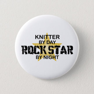 Pin's Vedette du rock de tricoteuse par nuit