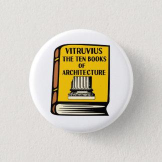 Pin's Vitruvius Dix livres de bouton de livre