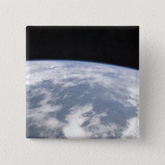Pin's Vue de la terre de planète de l'espace