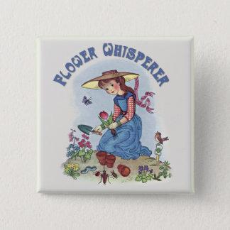 Pin's Whisperer de fleur