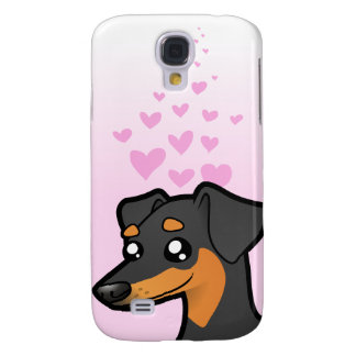 Pinscher miniature/amour de Manchester Terrier Coque Galaxy S4