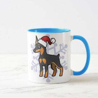Pinscher miniature de Noël/Manchester Terrier Mug