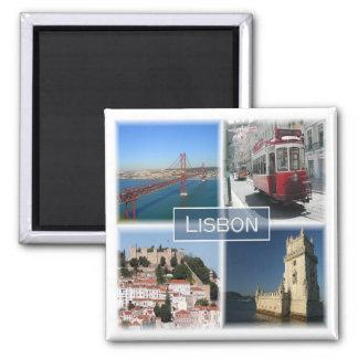 Pinte * Le Portugal - Lisbonne Portugal Aimant