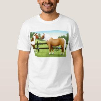 Pinto et amis de cheval de palomino t-shirt