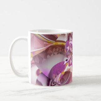 Pinwheel Street Fractal Art Mug Blanc