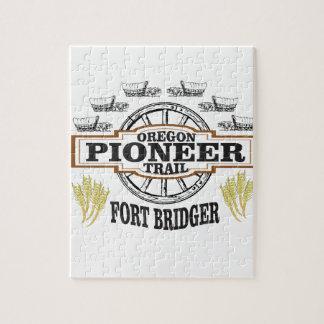 pionnier de bridger de fort puzzle