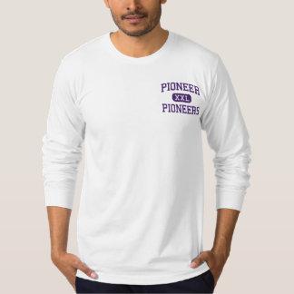 Pionnier - pionniers - haut - Ann Arbor Michigan T-shirt