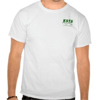Pionniers K9 augmentant la chemise T-shirts