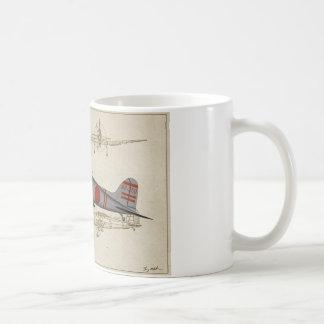 Piqué-bombardier d'Aichi-Val-3v Mug
