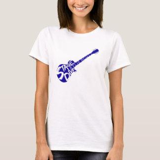 Piqué d'étape - Kylie Scott - guitare bleue T-shirt