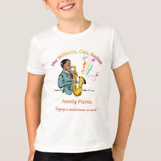 Pique-nique de famille de Williams - T-shirt de