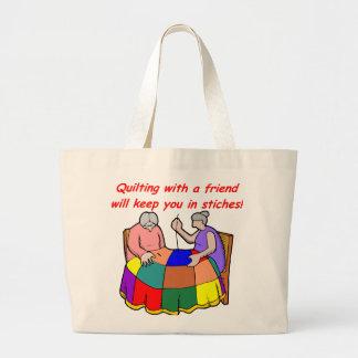 Piquer avec un ami grand sac