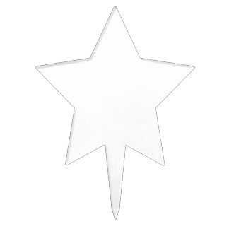 Piques à gâteau étoile