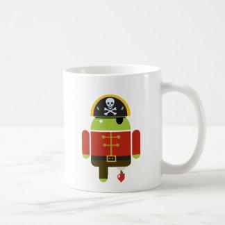 Pirate androïde - Andy Mug Blanc