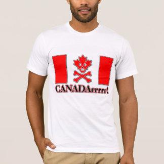 Pirate Canadarrr du Canada ! Fierté de Canadien de T-shirt