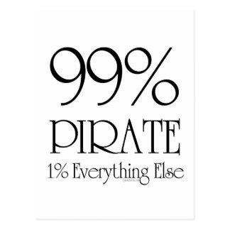Pirate de 99% carte postale