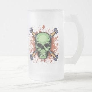 Pirate de dards mug en verre givré