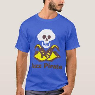 Pirate de saxo, musique de jazz t-shirt