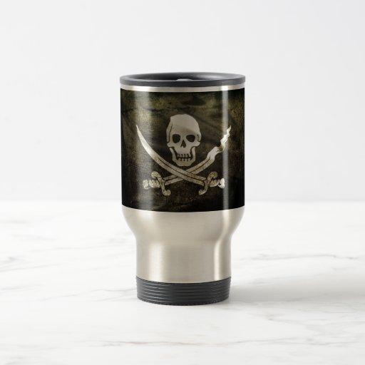 Pirate de Tête de mort Tasse À Café