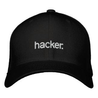 Pirate informatique de casquette noir