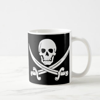 Pirate - la mort avant Decaf Mug