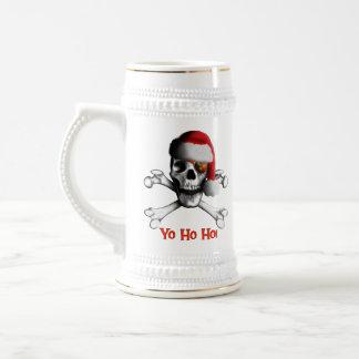 Pirate Stein/tasse de Noël Chope À Bière
