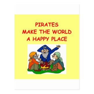 pirates carte postale