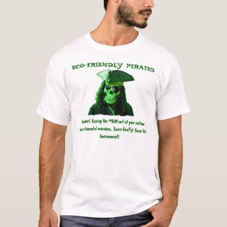 Pirates qui respecte l'environnement t-shirt