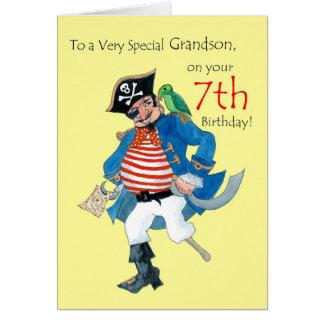 Piratez la 7ème carte d'anniversaire pour un