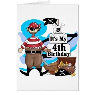 Piratez les 4èmes T-shirts et cadeaux Cartes