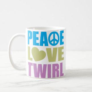 Pirouette d'amour de paix mug