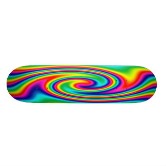 Pirouette d'arc-en-ciel mini skateboard 18,4 cm