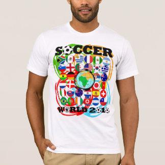 Pirouette de couleur de T-shirt de blanc des