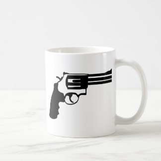Pistolet magnum 38 spécail mug