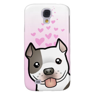Pitbull/amour Staffordshire Terrier américain Coque Galaxy S4