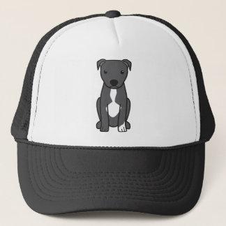 Pitbull Terrier américain (oreilles naturelles) Casquette