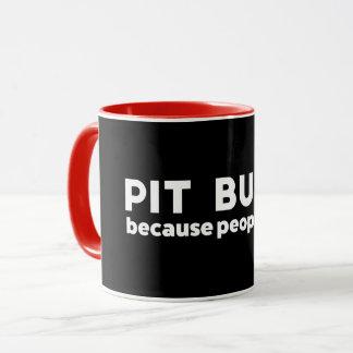 Pitbulls parce que les gens sucent l'amant de mug