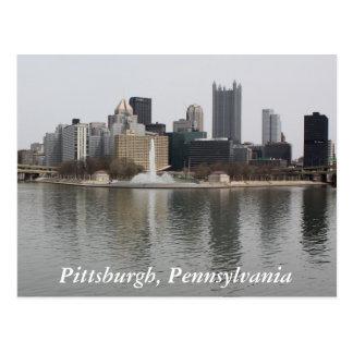 Pittsburgh, carte postale de PA