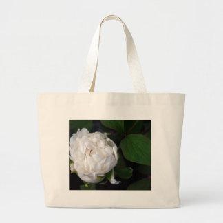 Pivoine blanche - photographie florale - sac fourre-tout