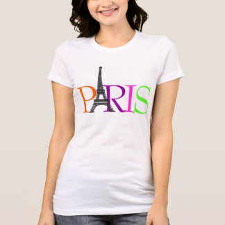 PixDezines Paris, Tour Eiffel T-shirt