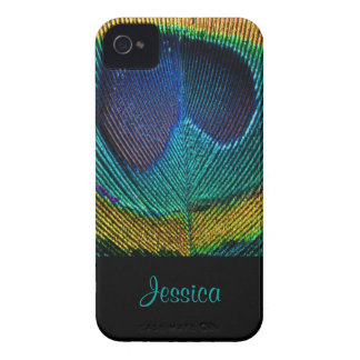 PixDezines Psychedellic Peacock/DIY Coques iPhone 4 Case-Mate