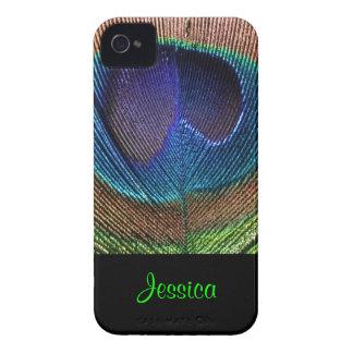 PixDezines Psychedellic Peacock/DIY Coque Case-Mate iPhone 4