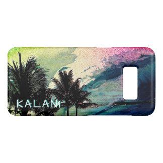 PixDezines surfe Up/Hawaii/Waves Coque Case-Mate Samsung Galaxy S8