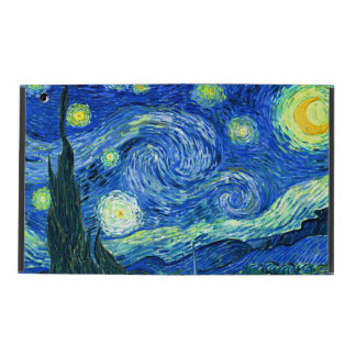 PixDezines Van Gogh Night/St étoilé. Remy Étuis iPad