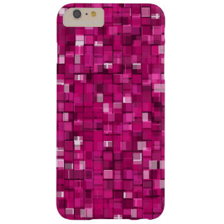 Pixels magenta coque iPhone 6 plus barely there