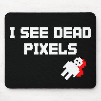 Pixels morts de Sarah Marshall Tapis De Souris