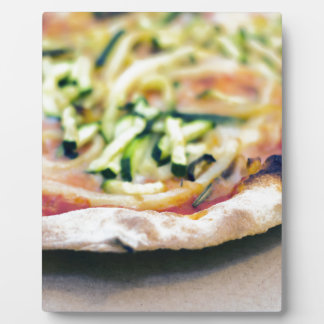 Pizza-12 Plaque Photo