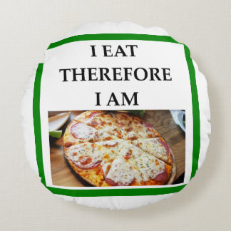 pizza coussins ronds