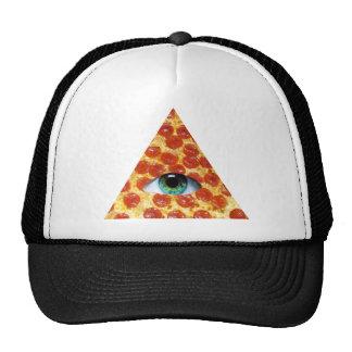 Pizza d Illuminati Casquette De Camionneur