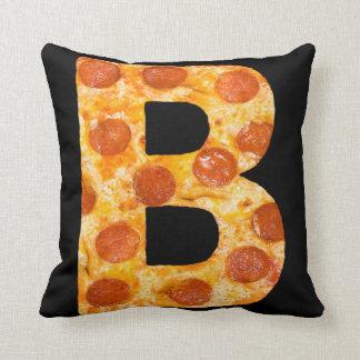 Pizza de bravo coussin décoratif